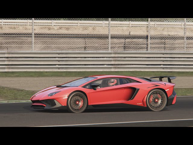 Assetto Corsa - Lamborghini Aventador SV at Monza Gameplay