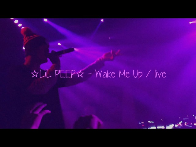 ☆Lil Peep☆ - Wake Me Up translate перевод rus subs R.I.P Gustav
