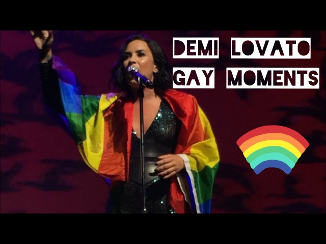 Demi Lovato gay moments