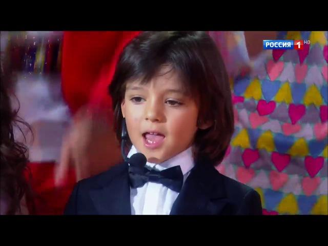 Алла-Виктория и Мартин - Зайка моя. Юбилейный концерт Киркорова. 50 лет