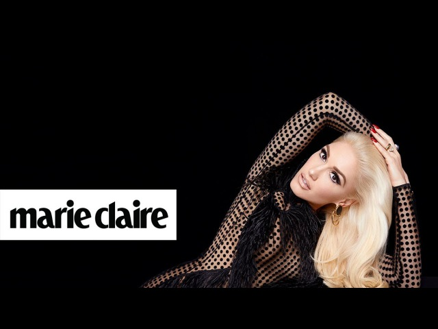 Gwen Stefani   Behind the Scenes   Marie Claire