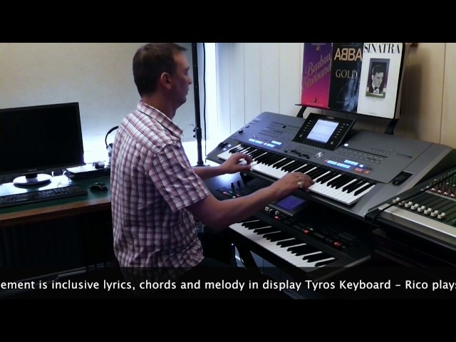 Cliff Richard The Shadows The Young Ones Yamaha Tyros 5 Roland G70 By Rico