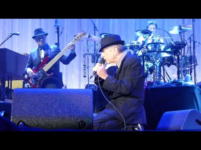 Leonard Cohen - First We Take Manhattan - live O2 World Hamburg 2013-07-14