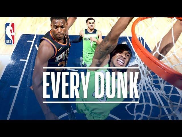 LeBron James Donovan Mitchell Tarik Black and Every Dunk From Saturday Night Dec 16 2017 NBANews NBA