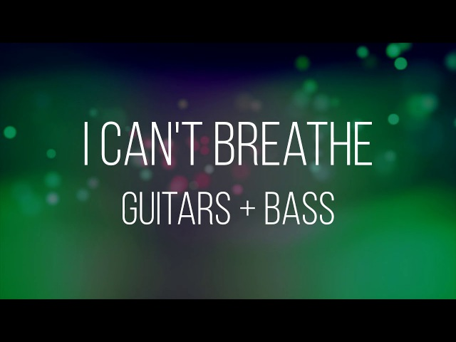 I Can't Breathe - Dead by April (Only Guitars Bass)