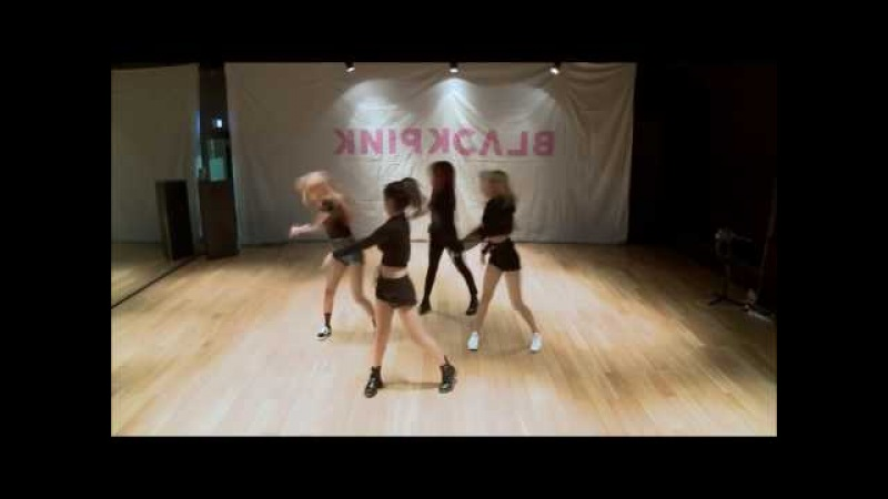 Blackpink - Playing With Fire dance practice (Mirror and Slow 80)