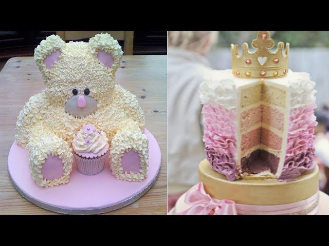 Top 10 Amazing Cakes Decorating Techniques 2017 - Most Satisfying Cake Style Video - Cake Style 2017