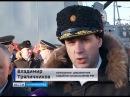 В Калининграде на фрегате «Адмирал Макаров» подняли Андреевский флаг