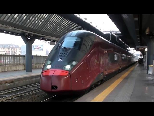 Transiti Milano Rogoredo [High Speed Trains 032013] Frecciarossa, Italo, Frecciabianca