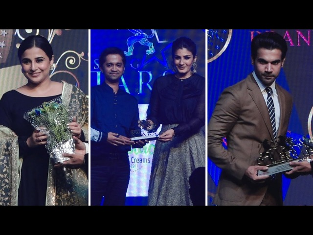 Raveena Tandon, Vidya Balan, Rajkummar Rao At Bollywood Film Journalist Awards 2018