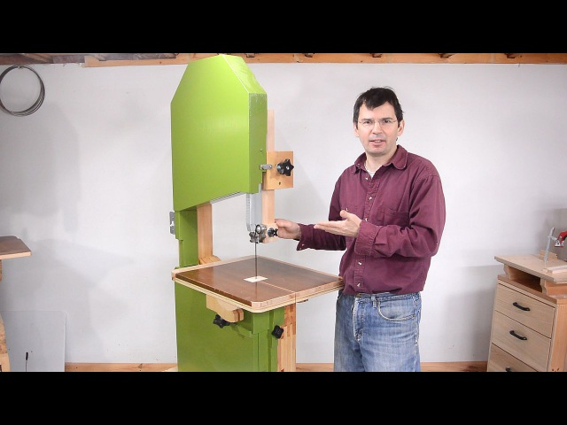 Building the woodgears.ca 20 bandsaw