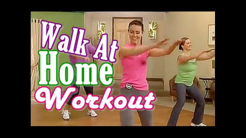 Workout At Home No Equipment - 1 Hour Walk At Home Workout For Healthy Heart