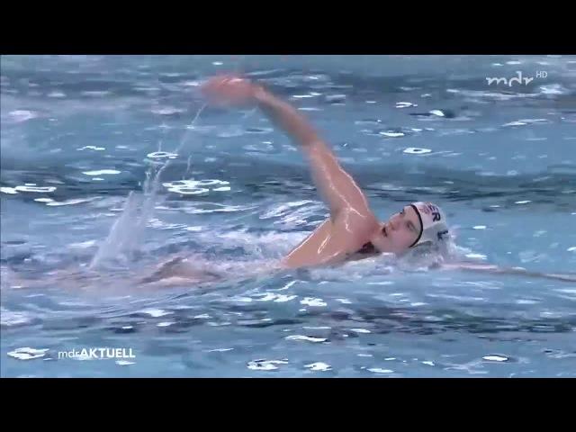 DSV-Wasserballer bieten Russen lange Paroli | MDR aktuell 21:45 Uhr | MDR