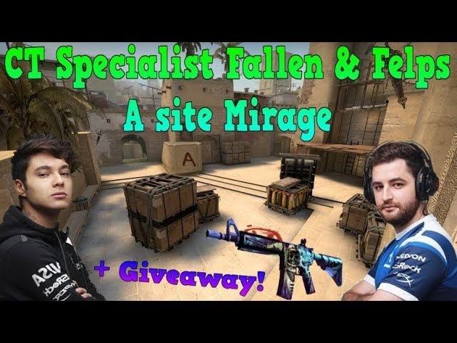 CT Specialist Fallen Felps - A site Mirage Giveaway