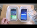 Sony Xperia XZ Premium vs Samsung Galaxy S8 Water Freeze Test 12 Hours! What Will Happen!?