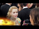 2013 Primetime Emmys with Kiernan Shipka from Mad Men - SheKnows Goes to the Shows