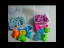 Кинетический Песок Цветной с Формочками Распаковка Unpacking Kinetic color sand