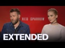 Jennifer Lawrence Doesn't Think 'Red Sparrow' Scenes Are 'Sexy' | EXTENDED