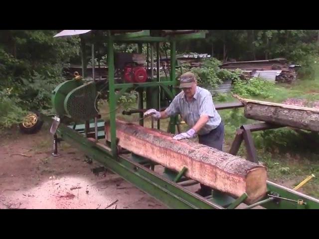 Esko's Homemade Bandsaw Mill