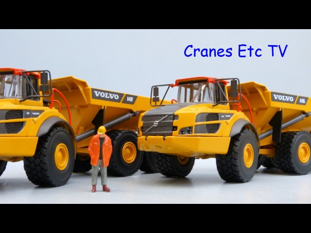 Motorart Volvo A40F and A40G Articulated Haulers by Cranes Etc TV