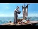 Пират и смерть.Очень смешной мультфильм