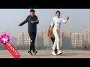 Chàng trai Dừng hình với bước nhảy Shuffle Dance của Cô gái xinh đẹp quyến rũ