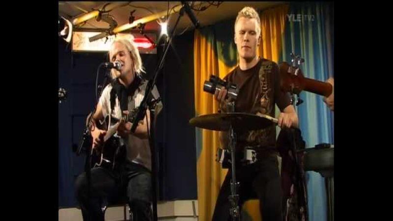 The Rasmus Justify Acoustic Live @ YleX Studio B 01 10 2008
