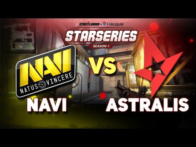 NAVI VS ASTRALIS » SL i-League StarSeries Season 4