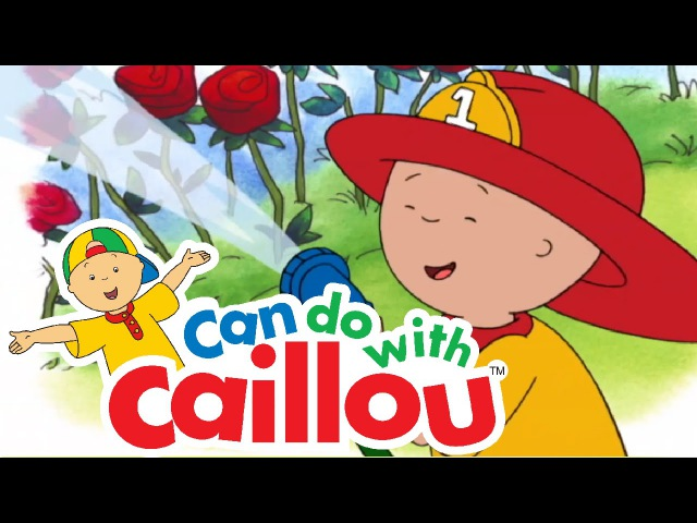 Caillou Can Be Fire Safe | Cartoon for Kids