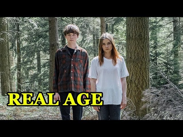 REAL AGE OF The End of the F***ing World ACTORS