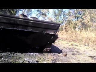 Жаркое лето 2014, уничтоженная техника ВСУ под Кожевней