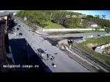 Иномарка сбила молодых людей на перекрестке Гоголя - Анохина