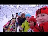 Наш походик просто класс, снегоступы есть у нас! Урааа!)))))))