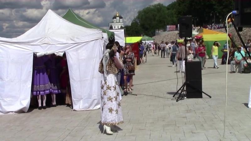 1-й международный фестиваль Этно - Мода Псков - 2017