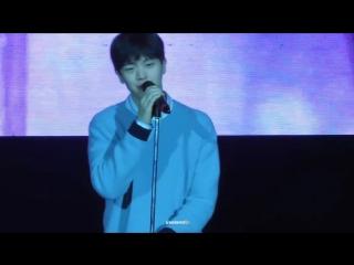 [FANCAM] 11.02.2018: Сончжэ - Paradise @ Solo Fan Meeting in Taiwan