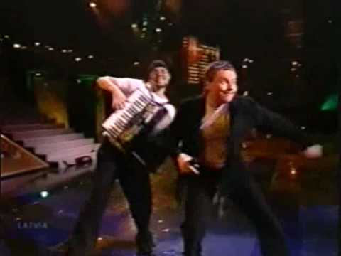 Eurovision 2001 Latvia - Arnis Mednis - Too much