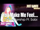 Just Dance Unlimited | You Make Me Feel... - Cobra Starship Ft. Sabi | Just Dance 4 [60FPS]