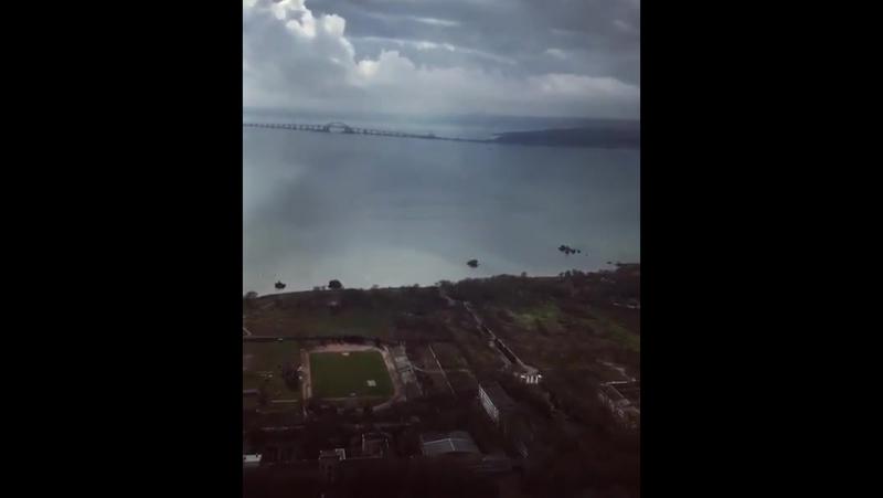 _helipark_Крымский мост с высоты птичьего полёта