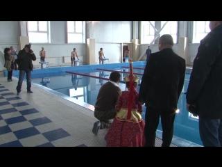 Открытие бассейна в Ак-Довураке