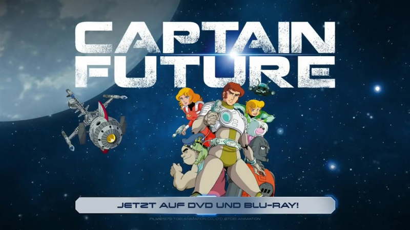 Captain Future Trailer auf Deutsch