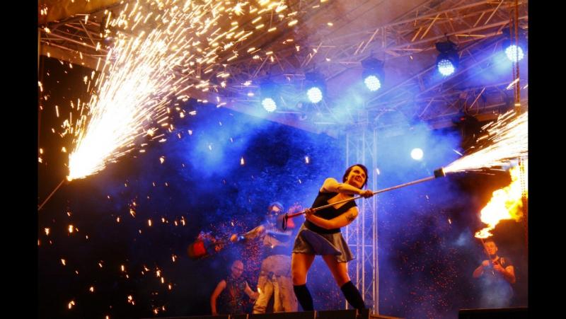 Sky Fire Огненное шоу Витебск