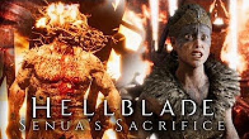 TheBrainDit БИТВА С БОГОМ ОГНЯ - Hellblade_ Senuas Sacrifice 2