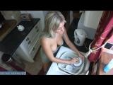 Муж после секса заставил молодую жену мыть все посуду после его пьяных друзей [milf, mature, милф, мамки]