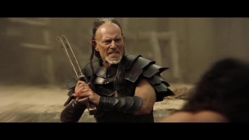Конана-варвар (2011). Схватка в старой крепости