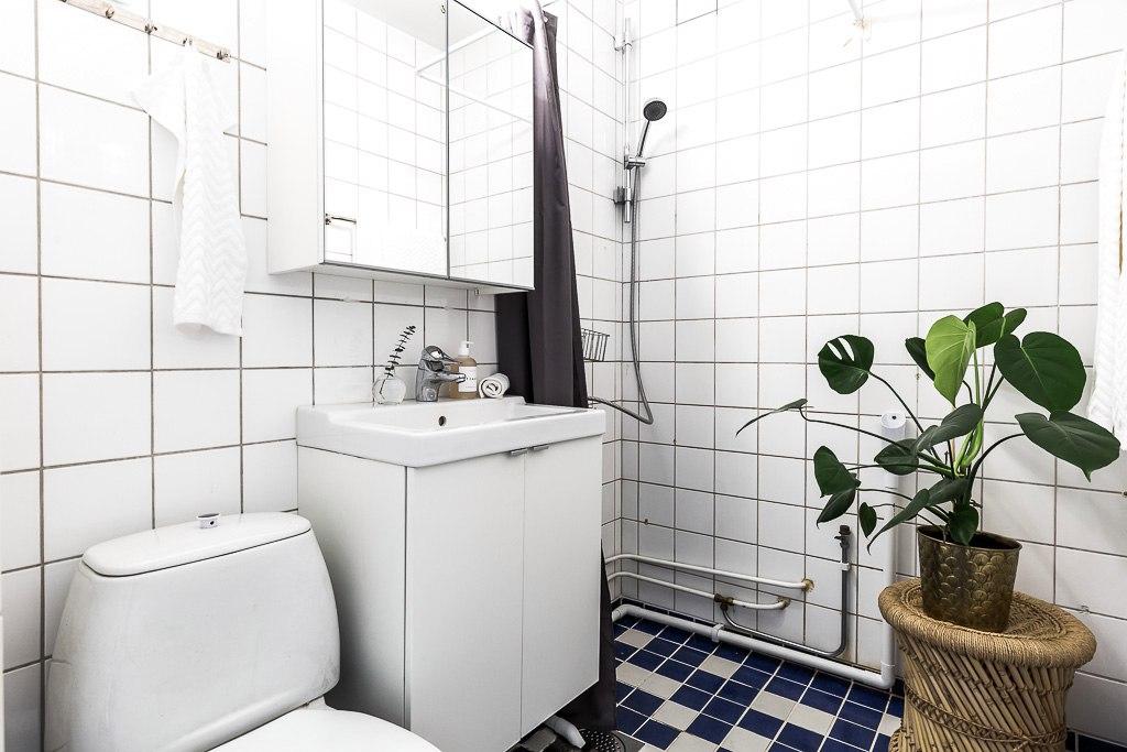 Скандинавский интерьер: квартира-студия 36 м.