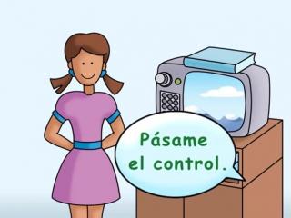 Turn on the TV_ Prende la televisión - Calico Spanish Songs for Kids