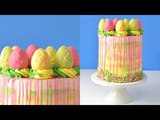 HOW TO MAKE EASTER/SPRING CHOCOLATE EGGS CAKE by HANIELAS