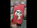 Чехол Nimmy iPhone X 6 7 8 6Plus 7Plus 8Plus Щенок Болонки