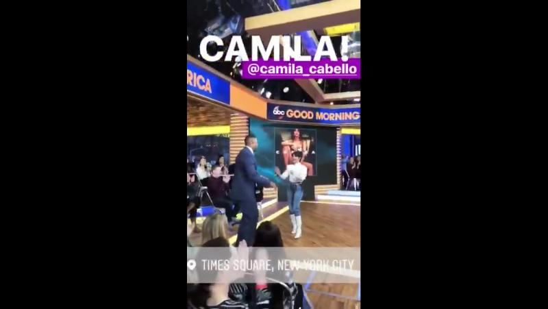 GMA's Instagram Story