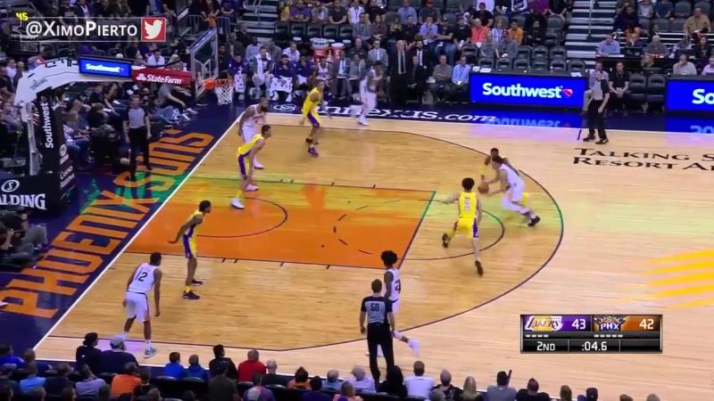 Лейкерс – Финикс. Обзор матча (Баскетбол. НБА) 14 ноября 2017